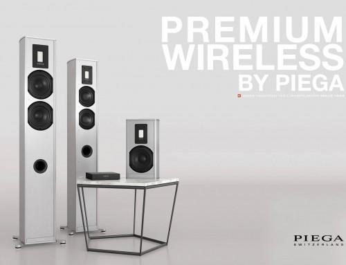 Neu bei uns im Showroom: Die Piega Premium Wireless Serie