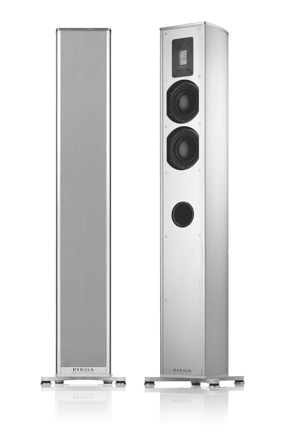 PIEGA Premium 501 Aluminium, Abdeckung Stoff grau