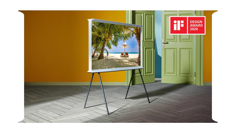 Samsung The Serif 2020 QLED TV 4K QE49LS01T